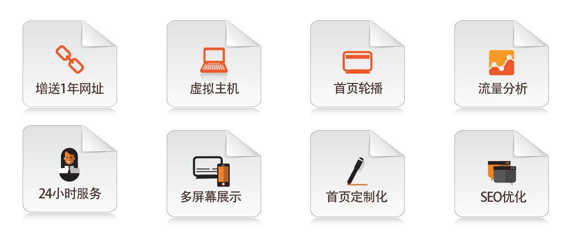 企业网站制作规格